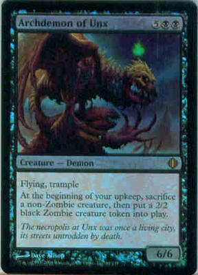 MTG ARCHDEMON OF UNX (FOIL)