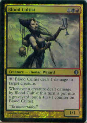 MTG BLOOD CULTIST (FOIL)
