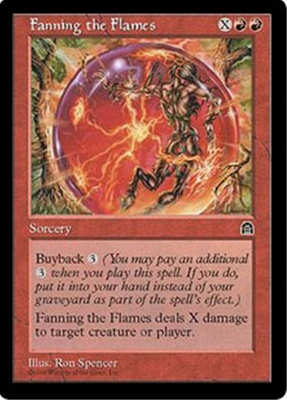 MTG FANNING THE FLAMES