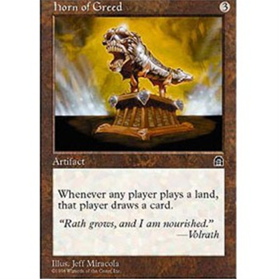 MTG HORN OF GREED