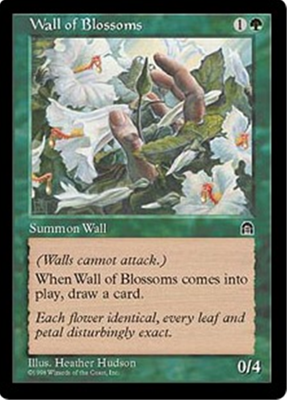 MTG WALL OF BLOSSOMS