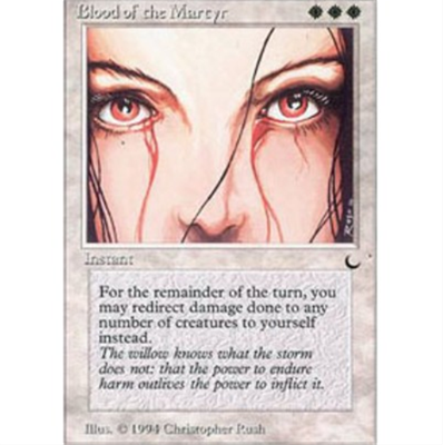 MTG BLOOD OF THE MARTYR