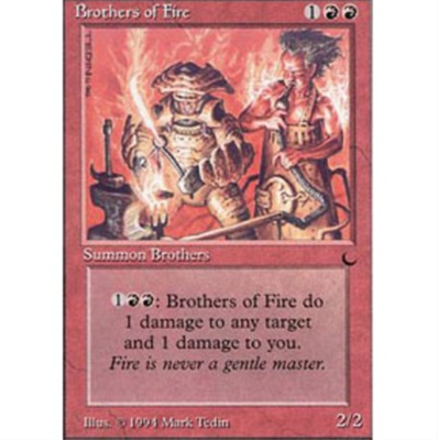 MTG BROTHERS OF FIRE