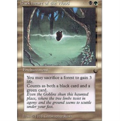 MTG DARK HEART OF THE WOOD