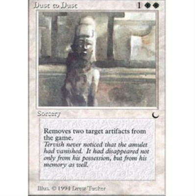 MTG DUST TO DUST