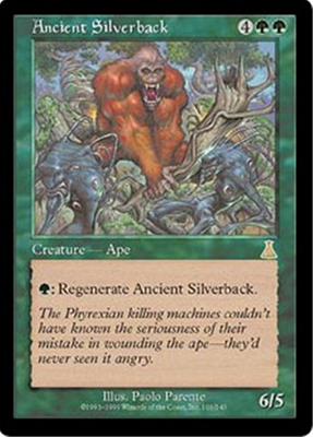 MTG ANCIENT SILVERBACK