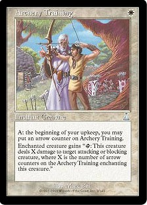 MTG ARCHERY TRAINING