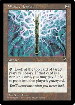 MTG WAND OF DENIAL