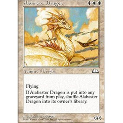 MTG ALABASTER DRAGON