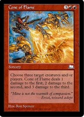 MTG CONE OF FLAME