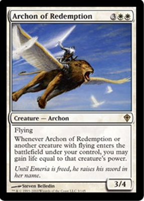 MTG ARCHON OF REDEMPTION