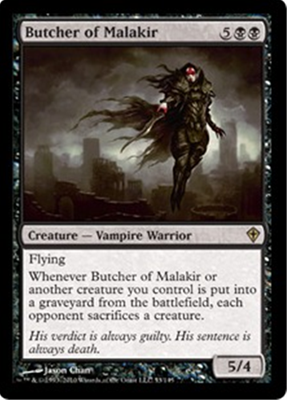 MTG BUTCHER OF MALAKIR