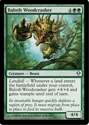 MTG BALOTH WOODCRASHER