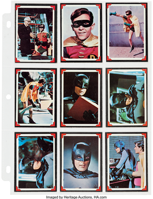 1966 Batman Riddler Back Set