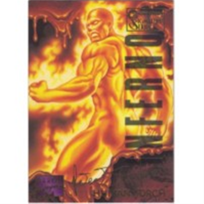 1995 Masterpieces Human Torch