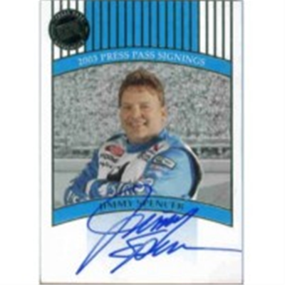 2003 PP 10th Jimmy Spencer AU